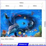 建物のMatrtialの美しい海の世界3Dの印刷のタイル(VPA6A116)