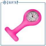 Reloj elegante del deporte del silicón del cuarzo de la muñeca