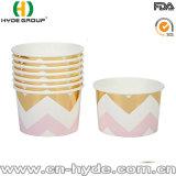 8oz bol de crème glacée jetables en papier avec impression