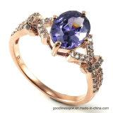 Accesorios de moda de joyería de plata de ley 925 Anillo (R0095PY)