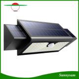 Éclairage de secours de jardin de 71 DEL de lampe de mur de lumière de triangle pliable solaire d'énergie solaire