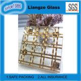 Vidrio plano transparente de Lamiated con el alambre de metal