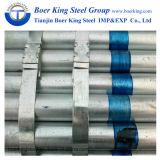 Pipe en acier galvanisée par utilisation d'ornement/frontière de sécurité/meubles/publicité
