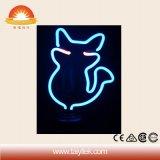 Gefäß-Katze-Zeichen-Neongroßhandelslicht China-kundenspezifisches handgemachtes Galss