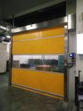 De estilo abierto de laminación y acabado acabado de superficies de las puertas de alta velocidad