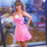 Cer-Bescheinigung-Agens wünschte 166cm lebensgrosse das Silikon-Geschlechts-Puppe