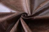 Il cuoio della pelle scamosciata gradice il tessuto da arredamento dell'automobile