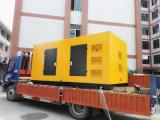 Бесшумный генератор 100 квт 125 ква дизельный генератор с Weichai 4-тактный двигатель