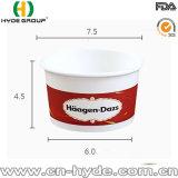 Desechables papel Helado Haagen-Dazs recipiente con tapa
