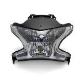 C China Wholesalersl Fhlhd029teste de LED de luz da motocicleta Angel Olhos Farol para Vfr1200 2010-2014