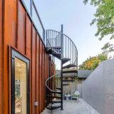 Escaleras prefabricadas del espiral del acero inoxidable