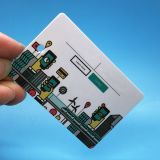 Un gran rendimiento UCODE 8 UHF RFID marca etiqueta etiqueta programable