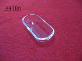 Bote de cristal de cuarzo transparente, cuarzo crisol