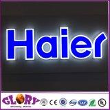 изготовленный на заказ<br/> открытый 3D-LED логотип компании подписать пользовательский индикатор подписать