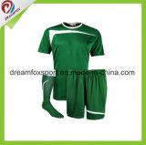 最上質のカスタムサッカーのワイシャツのポリエステルによって昇華させるサッカーのユニフォーム
