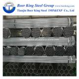 Horario 20 de ASTM A53 40 2 precio pre galvanizado 50m m con poco carbono del tubo de acero/del tubo de la pulgada 60m m St37 ERW de la pulgada 6 de la pulgada 5 de la pulgada 4