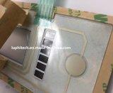 La retroiluminación LED LCD puntos de contacto de plata el interruptor de membrana impermeable