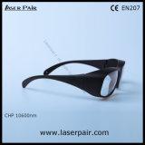 Schutz-Schutzbrillen der 10600nm Lasersicherheits-Glas-/Laser für CO2 Laser-Maschine von Laserpair