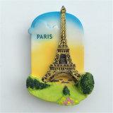 Paris France Lieux touristiques Cadeau souvenir Polyresin Fridge Magnet 3D