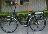 250Wブラシレスモーターを搭載する電気都市自転車
