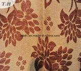 Sofá de chenilla color marrón de tela (Fürth31089A)
