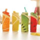 Мультфильм фрукты раунда полотенца из микрофибры с крюком для детей