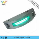Reflektor-Straßen-Stift der greller Modus-Aluminiumsonnenenergie-weißer LED