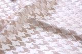 Tessuto dentellare del poliestere del jacquard del Chenille da 410GSM