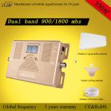 Répéteur mobile à deux bandes intelligent de signal de téléphone cellulaire de servocommande du signal 900/1800MHz