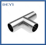 304 / 316L en acier inoxydable sanitaire Weld Equal Tee (DYTF-014)
