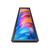 Tipo esticado visualização óptica da barra da classe comercial do LCD Digital