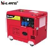 5kw silencieux Groupe électrogène de puissance du moteur diesel (DG6500SE)