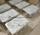 Partie supérieure du comptoir en pierre de marbre et de granit de la Chine avec le bassin pour la salle de bains