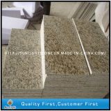 Polished Tiger Skin Yellow Granite Steps Stairs for Outdoor Garden