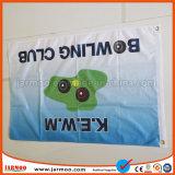 Custom Bandera de satén de poliéster voladores al aire libre