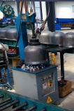 cadena de producción del cilindro de gas de 15kg LPG soldadora del socket de los equipos de fabricación de la carrocería