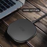 OEM 로고 iPhone를 위한 Samsung 은하를 위한 보편적인 Qi 탁상용 무선 충전기 (수신기에)