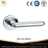 家具のハードウェア亜鉛合金のローズのドアのレバーロックはセットした(z6113-zr11)