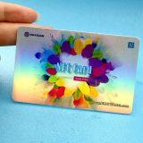 可変的なバーコードNFC PVC RFID NTAG215忠誠のカード