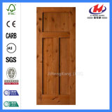 Portello di legno indiano dell'agitatore di disegno del portello dei doppi portelli dello scantinato