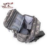 Тактические шестерни нейлоновые сумки через плечо военных Haversack подушек безопасности черного цвета
