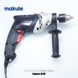 Taladro eléctrico del impacto de la tirada del clave 1020W de Makute 13m m (ID009)