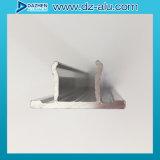 O alumínio de alumínio expulsou perfil para o frame da porta da rua da loja do revestimento do moinho