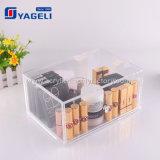 La qualité Ygl-102 6 tiroirs effacent l'organisateur acrylique de renivellement