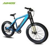 花火の巡航制御機能の青い表面の脂肪E自転車