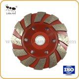 Fabricante profissional de alta qualidade roda Copa de moagem de diamante para betão