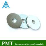 Imán de NdFeB del bucle D32*8.5*2.5 con el material magnético permanente