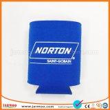 Support bleu de refroidisseur de bouteille du néoprène d'impression faite sur commande