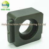 AluminiumEdelstahl-Messingmaschinell bearbeitenverbinder-quadratische Gefäß-Verbindung