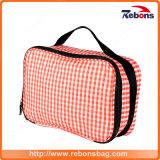 Подгонянный мешок розовой руки Toiletry верхнего качества косметический для повелительницы